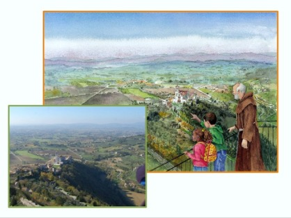 """adventures in assisi"""