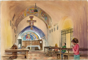 8. San Damiano Chapel - spread 7
