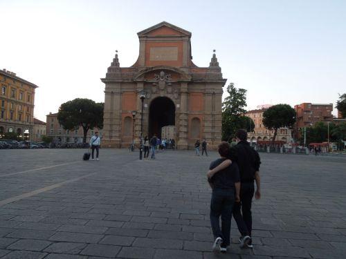 porta galleria, Bologna