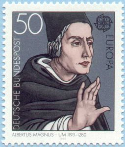 Albert the Great Stamp
