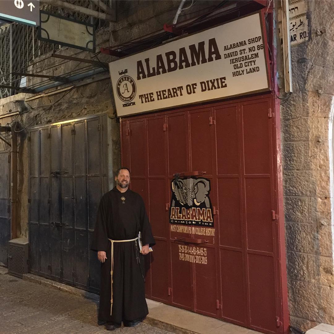 Alabama store in Jerusalem