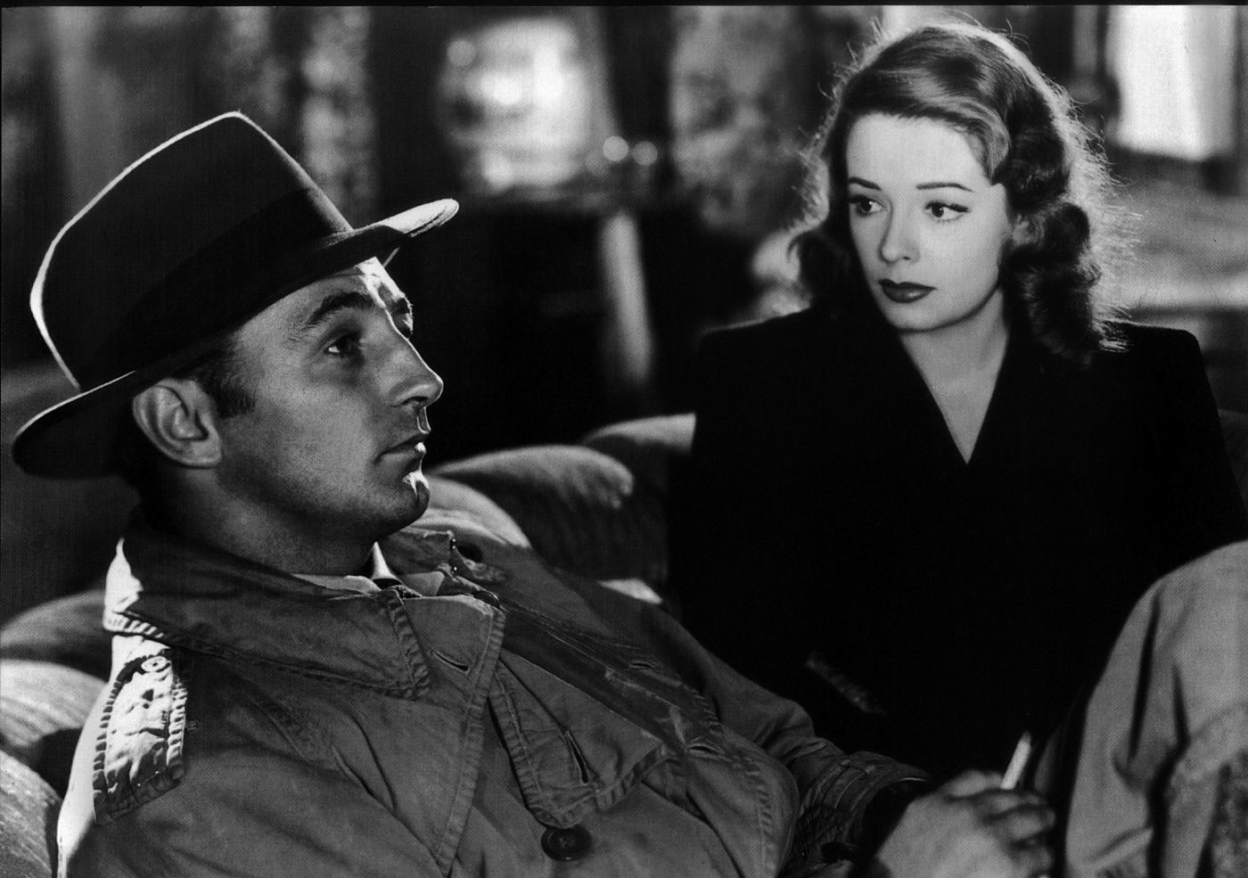 "WEIRDLAND: Jane Greer and Robert Mitchum in ""Out of the past"" video"